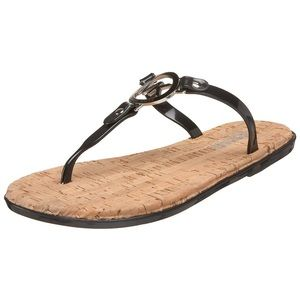 •michael kors• black jelly sandals